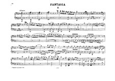 Fantasia for Mechanical Organ in F Minor, K.608: Version for piano four hands – parts by Wolfgang Amadeus Mozart