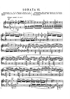 Sonata for Piano No.2 in F Major, K.280: With fingering by Wolfgang Amadeus Mozart