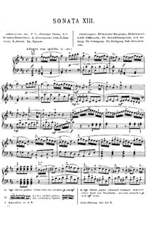 Sonata for Piano No.9 in D Major, K.311: With fingering by Wolfgang Amadeus Mozart