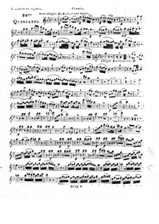 Woodwind Quintet in B Flat Major, Op.100 No.6: Parts by Anton Reicha
