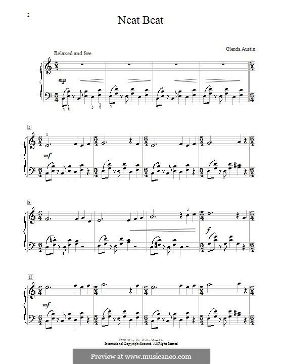 Neat Beat: For piano by Glenda Austin