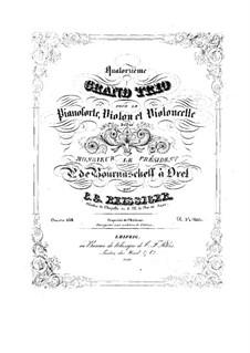 Piano Trio No.14, Op.158: Piano Trio No.14 by Carl Gottlieb Reissiger