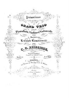 Piano Trio No.15, Op.167: Piano Trio No.15 by Carl Gottlieb Reissiger
