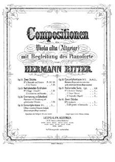 Italian Suite. No.2 Elegy, Op.37: Italian Suite. No.2 Elegy by Hermann Ritter