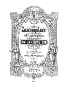 Twelve Duets, Op.48: Twelve Duets by Anton Rubinstein