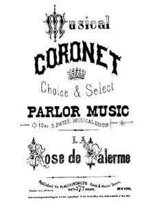 La Rose de Palerme. Polka brillante, Op.232: La Rose de Palerme. Polka brillante by Camille Schubert