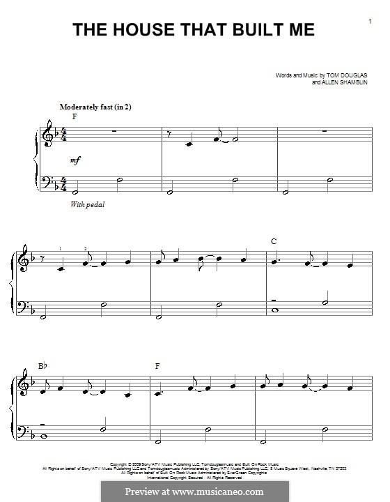 The House That Built Me (Miranda Lambert) by A. Shamblin, T. Douglas ...