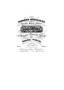 Soirées musicales, Op.6: Complete set by Clara Schumann