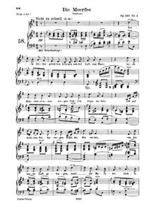 Five Fun Songs, Op.125: Complete set by Robert Schumann