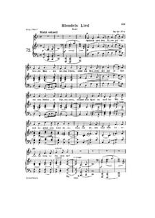 Romances and Ballades, Op.53: Piano-vocal score (German text) by Robert Schumann