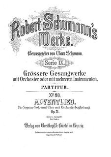 Christmas Song, Op.71: Christmas Song by Robert Schumann