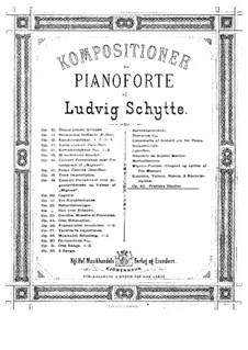 Poetic Etudes, Op.40: Poetic Etudes by Ludvig Schytte