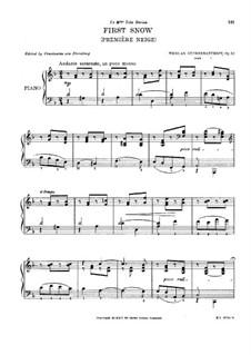 First Snow, Op.32: First Snow by Nikolai Shcherbachov