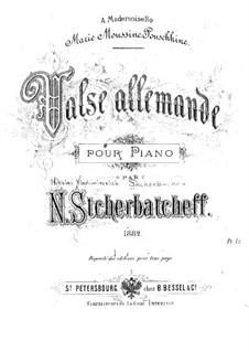 Valse allemande: Valse allemande by Nikolai Shcherbachov