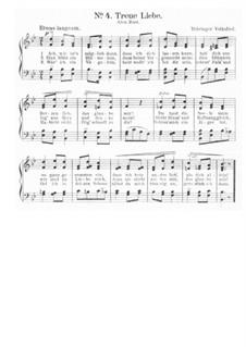 Ach, wie ist's möglich dann: Piano-vocal score by Friedrich Silcher