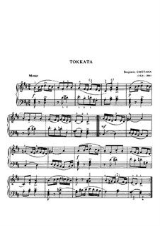 Toccata in D Major, B.71: Toccata in D Major by Bedřich Smetana