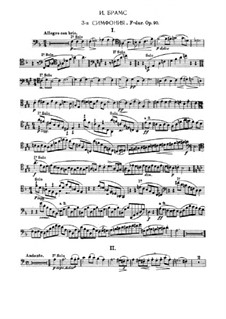 Complete set: Excerpts for bassoon by Johannes Brahms