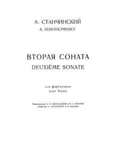Sonata No.2 in G Major: Sonata No.2 in G Major by Alexei Stanchinsky