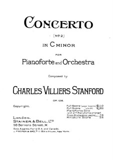 Piano Concerto No.2 in C Minor, Op.126: Piano Concerto No.2 in C Minor by Charles Villiers Stanford