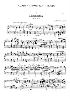 Five Moods, Op.10: Five Moods by Josef Suk