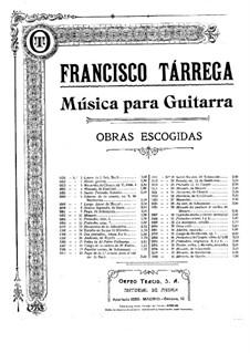 Preludes: Preludes No.8-9 by Francisco Tárrega