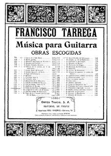 Biedny Valbuena: For guitar by Francisco Tárrega