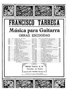 El ratón. Tango: El ratón. Tango by Francisco Tárrega