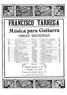Minuet in E Major: For guitar by Francisco Tárrega