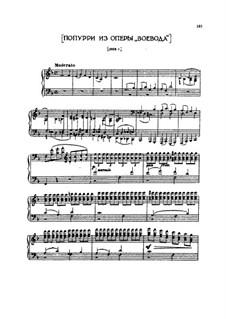 The Voyevoda, TH 1 Op.3: Potpourri on Themes by Pyotr Tchaikovsky