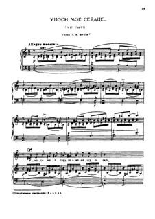 Two Romances, TH 96: No.1 Take My Heart Away by Pyotr Tchaikovsky