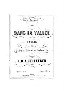 Dans la vallée, Op.32 No.3: Dans la vallée by Thomas Tellefsen