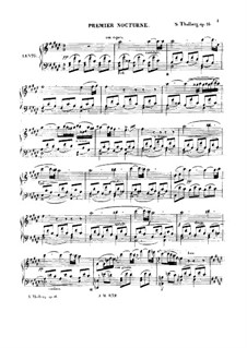 Two Nocturnes, Op.16: Two Nocturnes by Sigismond Thalberg