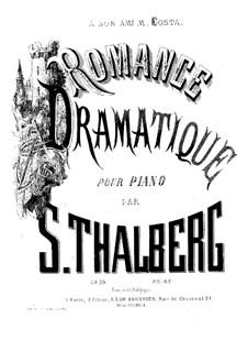Romance dramatique, Op.79: Romance dramatique by Sigismond Thalberg