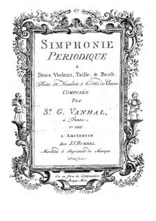 Symphony No.22 in D Minor: Symphony No.22 in D Minor by Johann Baptist Vanhal