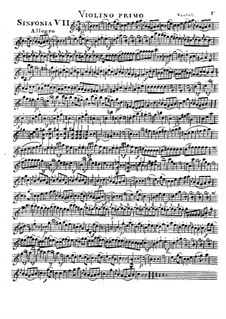 Symphony No.7 in C Major: Symphony No.7 in C Major by Johann Baptist Vanhal