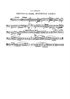 Overture: Excerpts for bassoon by Wolfgang Amadeus Mozart