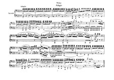 Six Pieces for Piano Four Hands, J.81-86 Op.10: Piece No.5 by Carl Maria von Weber