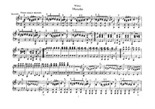 Six Pieces for Piano Four Hands, J.81-86 Op.10: Piece No.4 (Mazurka) by Carl Maria von Weber