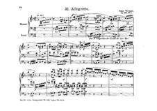 Allegretto in F Major, Op.136 No. 3: Allegretto in F Major by Oskar Wermann