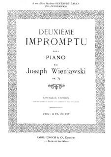 Impromptu No.2, Op.34: Impromptu No.2 by Józef Wieniawski