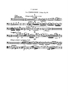 Symphony No.1 in B Flat Major 'Spring', Op.38: Bassoon part (Fragment) by Robert Schumann