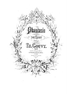 Fantasia for Two Pianos, Op.69: Fantasia for Two Pianos by Louis Théodore Gouvy