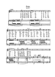 Suk (Sighs), EG 134: Suk (Sighs) by Edvard Grieg