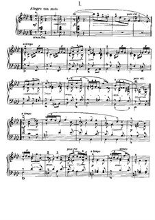 Four Album Leaves, Op.28: For piano by Edvard Grieg