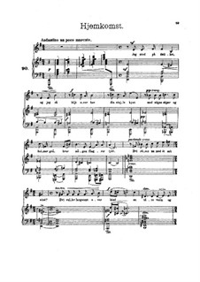 Norge (Norway), Op.58: Complete set by Edvard Grieg
