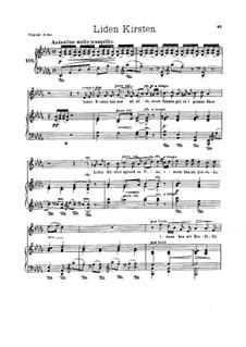 Five Songs, Op.60: Five Songs by Edvard Grieg