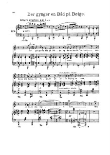Five Poems, Op.69: Five Poems by Edvard Grieg