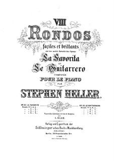 Deux rondos faciles et brillants sur 'Le guitarrero' l'opéra de Halévy, Op.23 No.1, 3: Deux rondos faciles et brillants sur 'Le guitarrero' l'opéra de Halévy by Stephen Heller