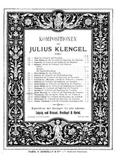 Mazurka for Cello and Piano No.3, Op.14: Mazurka for Cello and Piano No.3 by Julius Klengel