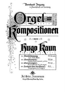 Abendstimmung: Abendstimmung by Hugo Kaun